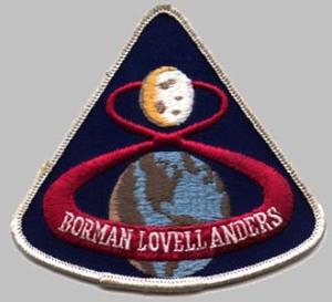 Apollo 8's crew patch