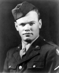 """Master Sgt. Henry """"Red"""" Erwin (1921-2002), Medal of Honor recipient."""