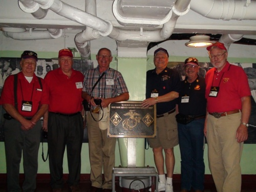 Seagoing Marines who served proudly on the USS Yorktown, CV-10.